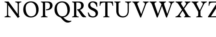 Musee Regular Font UPPERCASE