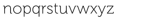 Museo 100 Font LOWERCASE
