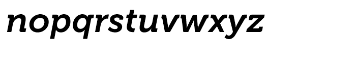 Museo 700 Italic Font LOWERCASE