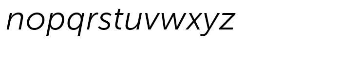 Museo Sans 300 Italic Font LOWERCASE