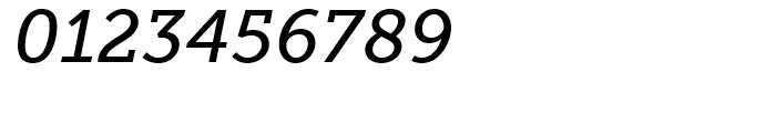 Museo Slab 500 Italic Font OTHER CHARS