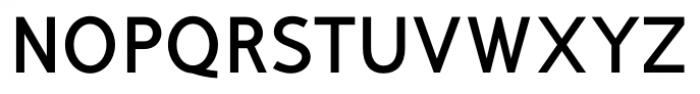 Mucho Sans Bold Font UPPERCASE