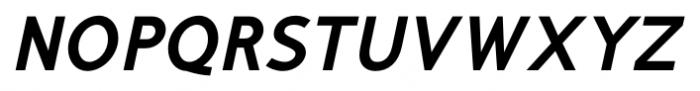 Mucho Sans Heavy Italic Font UPPERCASE