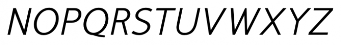 Mucho Sans Italic Font UPPERCASE