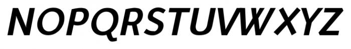 Murena Bold Italic Font UPPERCASE
