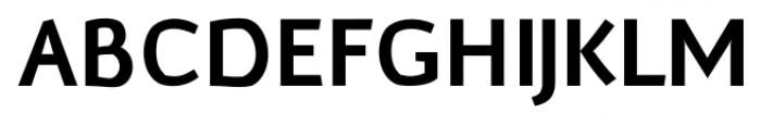 Murena Bold Font UPPERCASE