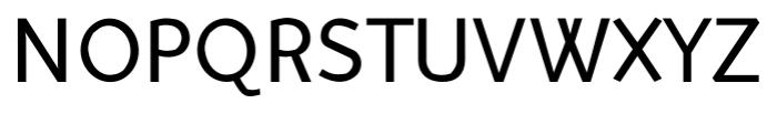 Murena Regular Font UPPERCASE