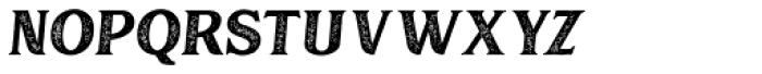 Muara Rough Slant Font UPPERCASE