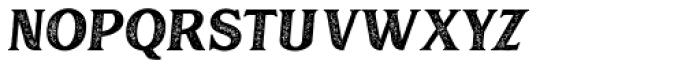 Muara Rough Slant Font LOWERCASE