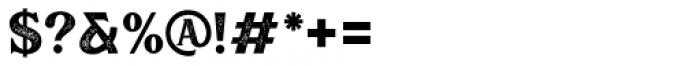 Muara Rough Font OTHER CHARS