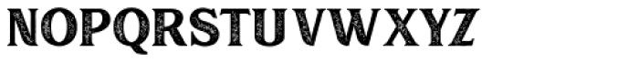 Muara Rough Font LOWERCASE