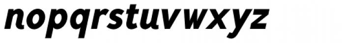 Mucho Sans Black Italic Font LOWERCASE