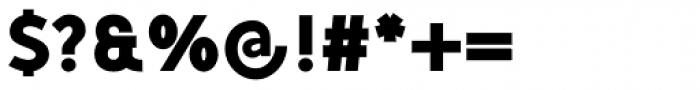 Mucho Sans Black Font OTHER CHARS