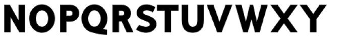 Mucho Sans Black Font UPPERCASE