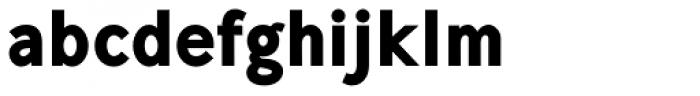 Mucho Sans Black Font LOWERCASE