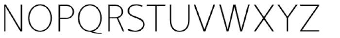Mucho Sans Thin Font UPPERCASE
