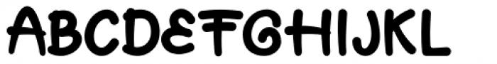 Muffin Cake Regular Font UPPERCASE