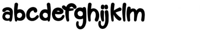 Muffin Cake Regular Font LOWERCASE