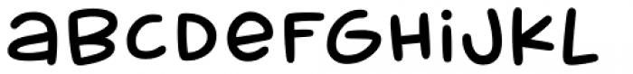 Muggsy Heavy Font LOWERCASE