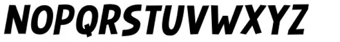 Mugpie Italic Font UPPERCASE