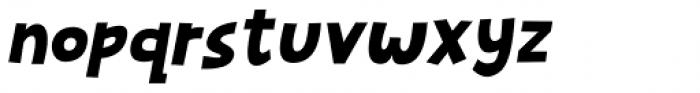 Mugpie Italic Font LOWERCASE