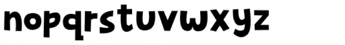 Mugpie Regular Font LOWERCASE