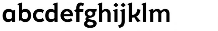 Muirne Bold Font LOWERCASE