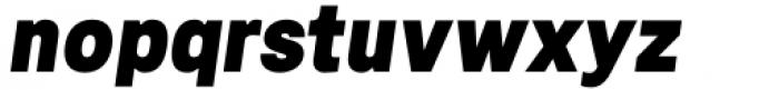 Mula Black Italic Font LOWERCASE