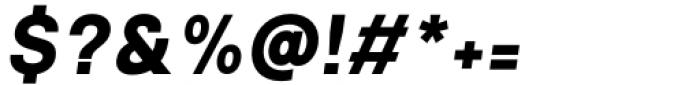 Mula Bold Italic Font OTHER CHARS