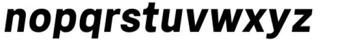 Mula Bold Italic Font LOWERCASE
