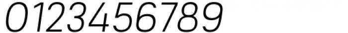Mula Slim ExtraLight Italic Font OTHER CHARS