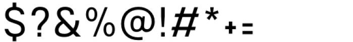 Mula Slim Light Font OTHER CHARS