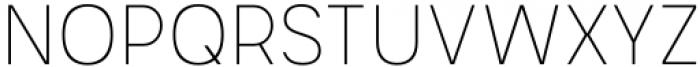 Mula Slim Thin Font UPPERCASE