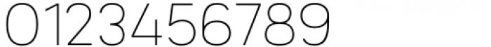 Mula Thin Font OTHER CHARS