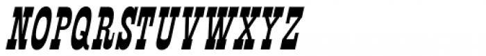 Mule Train JNL Oblique Font UPPERCASE