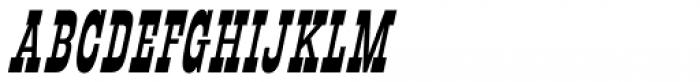 Mule Train JNL Oblique Font LOWERCASE
