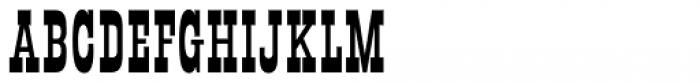 Mule Train JNL Regular Font UPPERCASE