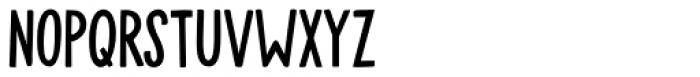 Mulhouse Regular Font LOWERCASE