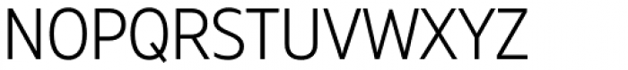 Muller Narrow Light Font UPPERCASE