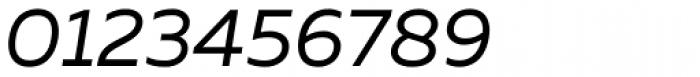 Muller Regular Italic Font OTHER CHARS