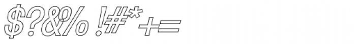 Mulsanne Outline Font OTHER CHARS