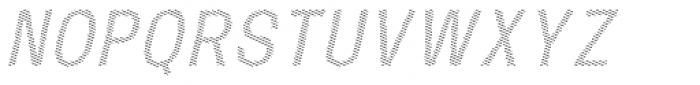Mulsanne Shaded Font UPPERCASE