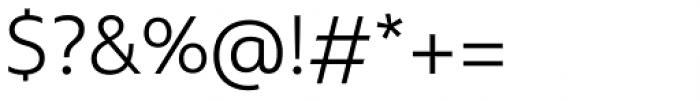 Multiple Sans Pro Light Font OTHER CHARS