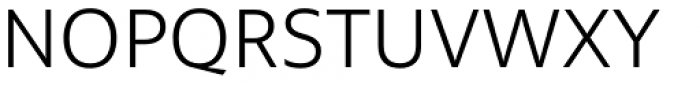 Multiple Sans Pro Light Font UPPERCASE