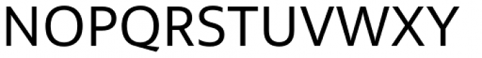 Multiple Sans Pro Regular Font UPPERCASE