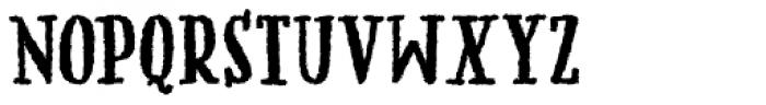 Mummbler Font UPPERCASE