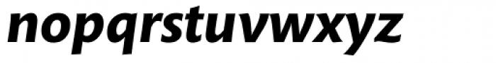 Mundo Sans Bold Italic Font LOWERCASE