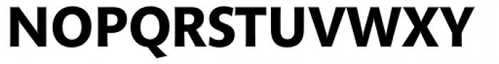 Mundo Sans Bold Font UPPERCASE