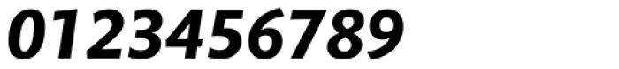 Mundo Sans Std Bold Italic Font OTHER CHARS