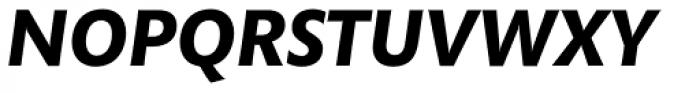 Mundo Sans Std Bold Italic Font UPPERCASE
